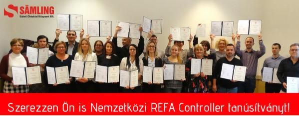 Nemzetközi REFA Controller képzés