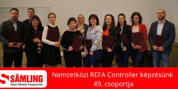 Nemzetközi REFA Controller - Nyílt nap