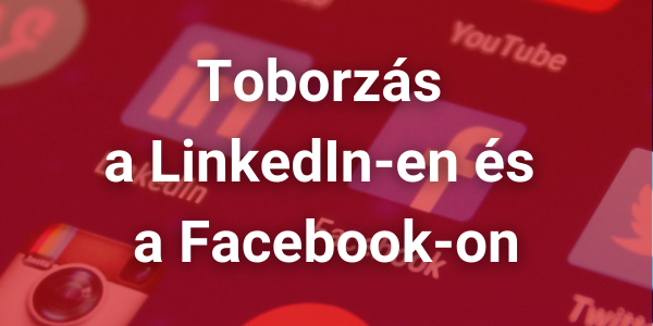 Toborzás a LinkedIn-en és a Facebook-on