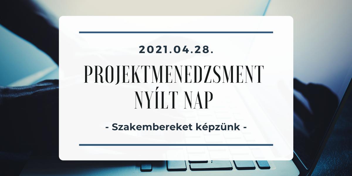 projektmenedzsment open day