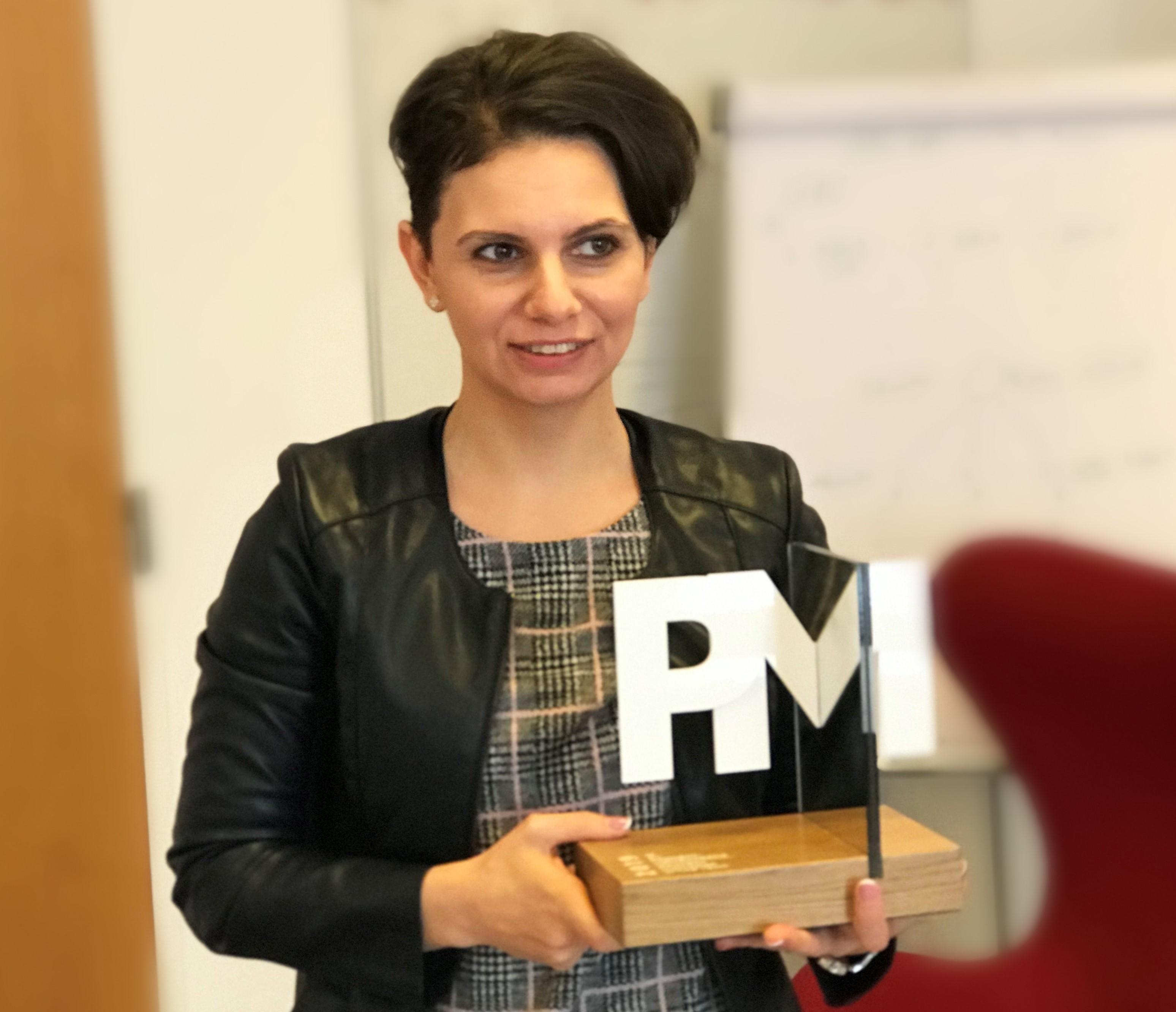 projektmenedzser díj